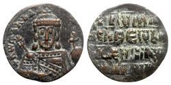 Ancient Coins - Constantine VII and Romanus I (913-959). Æ 40 Nummi - Constantinople