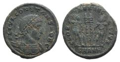 Ancient Coins - Constans (337-350). Æ Follis. Antioch, 335-7.