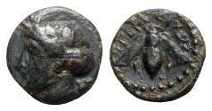 Ancient Coins - Ionia, Ephesos, c. 390-320/00 BC. Æ - Hegelochos, magistrate