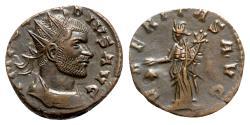 Ancient Coins - Claudius II (268-270). Radiate - Siscia - R/ Uberitas