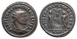 Ancient Coins - Constantius I (Caesar, 293-305). Radiate - Antioch