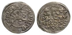 World Coins - Holy Roman Empire, Habsburg. Rudolph II (1576-1608). AR Maley-Groschen 1583. Kuttenberg.