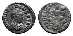 Ancient Coins - Arcadius (383-408). Æ - Constantinople - R/ Victory
