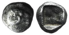 Ancient Coins - Troas, Kebren (?), c. 5th century BC. AR Obol. Head of ram UNPUBLISHED