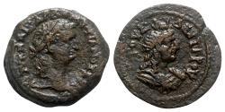 Ancient Coins - Domitian (69-81). Egypt, Alexandria. Æ Hemidrachm - year 2