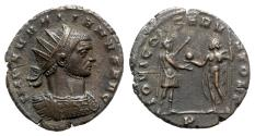Ancient Coins - Aurelian (270-275). Radiate - Siscia