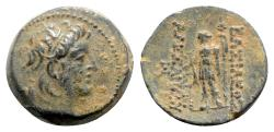Ancient Coins - Seleukid Kings, Alexander II Zabinas (128-122 BC). Æ