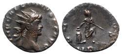 Ancient Coins - Gallienus (253-268). Antoninianus - R/ Emperor sacrificing