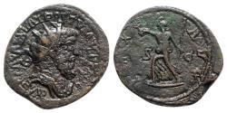 Ancient Coins - Postumus (260-269). Æ Sestertius - R/ Pax