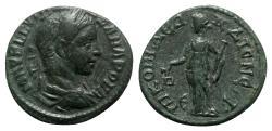 Ancient Coins - Severus Alexander (222-235). Bithynia, Nicomedia. Æ - R/ Nemesis