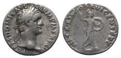 Ancient Coins - Domitian (81-96). AR Denarius - Rome - R/ Minerva