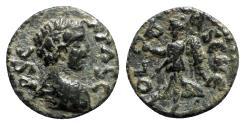 Ancient Coins - Geta (Caesar, 198-209). Pisidia, Antioch(?). Æ - Bare bust / Nike