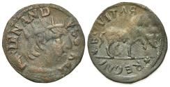 World Coins - Italy, l'Aquila. Ferdinando I d'Aragona (1458-1494). Æ Cavallo. R/ Horse
