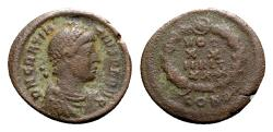 Ancient Coins - Gratian (367-383). Æ - Constantinople - RARE
