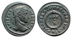 Ancient Coins - Crispus (Caesar, 323-324). Æ Follis - Arelate