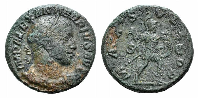 Ancient Coins - Severus Alexander (222-235). AE As. Rome, 231-235. R/ MARS