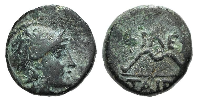 Ancient Coins - Kings of Pergamon. Philetairos (282-263 BC). AE 11mm