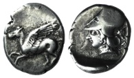 Ancient Coins - Corinth, c. 400-375 BC. AR Stater