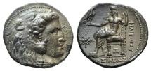 Ancient Coins - Kings of Macedon, Philip III Arrhidaios (323-317 BC). AR Tetradrachm. 'Arados', c. 323-316. EXTREMELY FINE