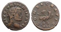 Ancient Coins - Divus Constantius I. Died AD 306. Æ Follis. Lugdunum (Lyon) mint. Struck under Constantine I, late AD 306-early 307.