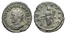 Ancient Coins - Philip II. AD 247-249. AR Antoninianus. Antioch mint. R/ AEQUITAS VERY RARE