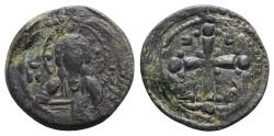 Ancient Coins - Anonymous, time of Nicephorus III (1078-1081). Æ 40 Nummi - Constantinople