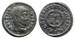 Ancient Coins - Constantine I (307/310-337). Æ Follis - Ticinum