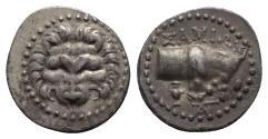 Ancient Coins - Islands of Ionia, Samos, c. 210-185 BC. AR Drachm