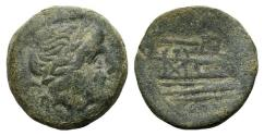 Ancient Coins - ROME REPUBLIC Anonymous. After 211 BC. Æ Semis