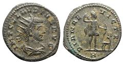 Ancient Coins - Claudius II (268-270). Radiate - Antioch - R/ Diana