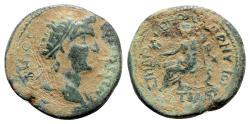 Ancient Coins - Phrygia, Cotiaeum. Pseudo-autonomous issue, time of Gallienus (253-268). Æ - Diogenes Dionysos, magistrate - Demos / Zeus