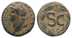 Ancient Coins - Nero (54-68). Seleucis and Pieria, Antioch. Æ 20mm, c. AD 65-6.