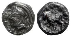 Ancient Coins - Celtic, Central Gaul. Sequani, c. 50-30 BC. Potin Unit
