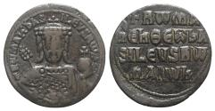 Ancient Coins - Constantine VII Porphyrogenitus, with Romanus I. 913-959. Æ Follis. Constantinople mint. Struck 931-944