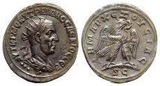 Ancient Coins - Trajan Decius (249-251). Seleucis and Pieria, Antioch. BI Tetradrachm