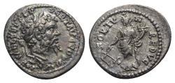 Ancient Coins - Septimius Severus (193-211). AR Denarius - Laodicea - R/ Fortuna