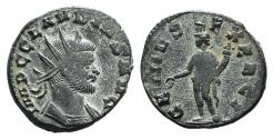Ancient Coins - Claudius II (268-270). Radiate. Rome, 268-9. R/ Genius