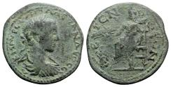 Ancient Coins - Severus Alexander (222-235). Pisidia, Etenna. Æ - R/ Zeus - UNPUBLISHED
