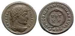 Ancient Coins - Constantine I (307/310-337). Æ Follis - Arelate