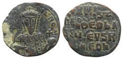 Ancient Coins - Constantine VII and Romanus I (913-959). Æ 40 Nummi. Constantinople, 945-950.