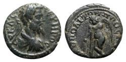 Ancient Coins - Septimius Severus (193-211). Moesia Inferior, Nicopolis ad Istrum. Æ - R/ Eros