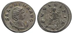 Ancient Coins - Salonina (Augusta, 254-268). Antoninianus. Rome, 260-2. R/ Pudicitia