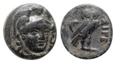 Ancient Coins - Troas, Sigeion, c. 4th-3rd centuries BC. Æ
