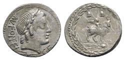 Ancient Coins - Mn. Fonteius C.f., Rome, 85 BC. AR Denarius
