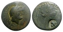 Ancient Coins - Pisidia, Termessos, 1st century BC. Æ - Zeus / Thunderbolt
