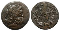 Ancient Coins - Ptolemaic Kings of Egypt, Ptolemy III Euergetes (246-222 BC). Æ Trihemiobol