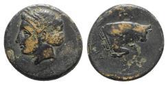 Ancient Coins - Ionia, Magnesia ad Maeandrum, c. 400-350 BC. Æ