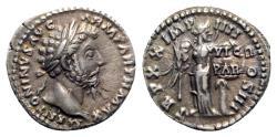 Ancient Coins - Marcus Aurelius (161-180). AR Denarius - Rome - R/ Victory