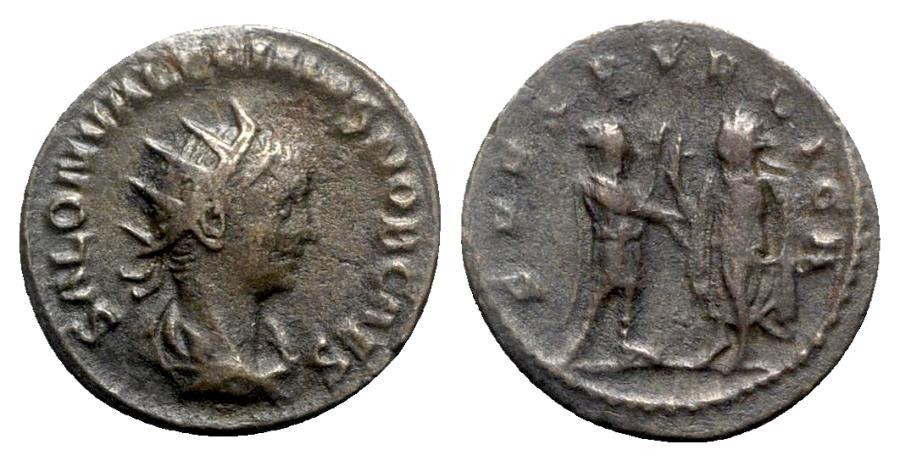Ancient Coins - Saloninus (Caesar, 258-260). Antoninianus - Samosata