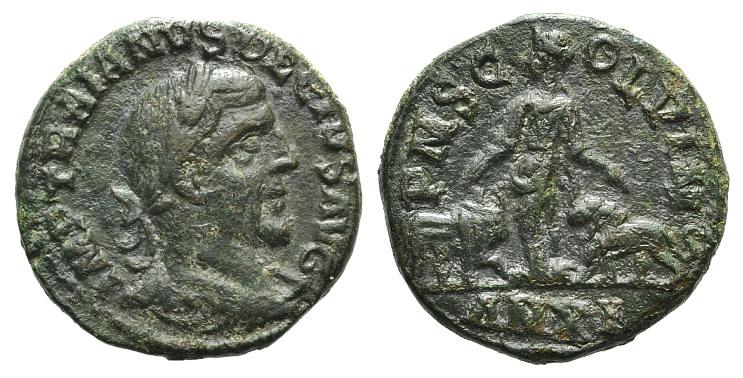 Ancient Coins - Trajan Decius (249-251). Moesia Superior, Viminacium. Æ 27mm. Year 11 (244/5)